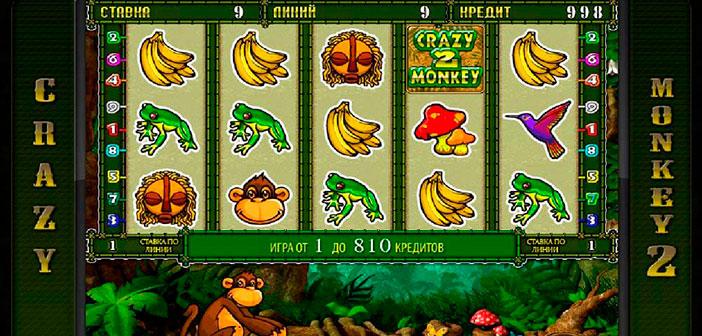 игровой автомат онлайн Crazy Monkey